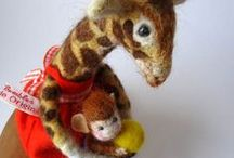characters/small...felted soft fiber / by Karla Iverson