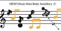 Music Note Jewellery / If you know your crotchet from your clef's and quavers this is the jewellery for you! Check out the full Music Note collection online now!