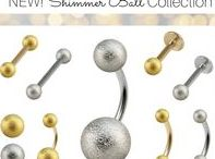 Shimmer Ball Body Jewellery / These beautiful Steel Shimmer Balls are available in 1.2mm gauge, 3mm and 4mm diameter. The Steel Ball is highly polished and then micro sandblasted creating this stunning look. Don't worry they feel smooth to wear!