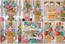Holiday Sparkle Favorites! / Pin all your best.  Feel free to pin all your favorite Holiday, craft, DIY, Home Decorating or Shabby finds from all your favorite blogs!...if you would like to join this group, just say 'add me' on one of my pins.  I really enjoy helping people promote their pins, so if you have a blog or an etsy store this is a great place to pin all your favorites and gain exposure for your craft projects or items your selling. / by ❤ Holiday Sparkle ❤
