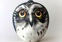 I heart owl art