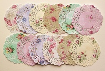 doilies / by Cheryl Lindsay