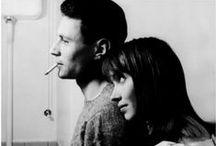Les jolies femmes de Godard / The lovely women of Jean-Luc Godard's films / by Miranda Celeste Hale