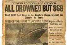 """Titanic 1912 - 2012 / """"The Unsinkable Ship"""" / by ҜƗŦŦ¥ǤƗŘŁ"""