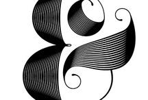 Caligrafia * Tipografia * Cartazes / papéis, canetas, lettering, desenhos, ... / by Elizabeth Pougy