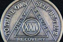 Recovery / I'm sober in A.A. since 7/5/91 - by the grace of God - one day at a time :) / by Melody Dodd