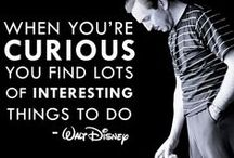 Disney Words / Quotations from Walt, his characters and the Disnerd life :) / by Melody Dodd