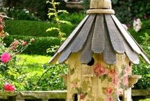 birdhouses / by Pat Hagerty Wermers