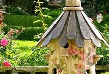 birdhouses / by Pat Hagerty Wermers