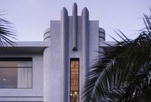 Deco Architecture & Interiors / Buildings and interior spaces in the Art Deco Style / by Melody Dodd
