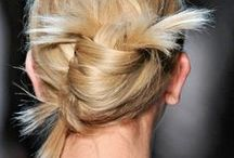Peinados | Hairstyle / Peinados: recogidos, semirecogidos, ondas. Hair styles: updo, messy, waves. / by LOIDA | imagen contemporánea