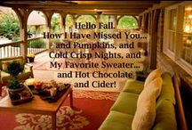 Fall in Love with Natural Element Homes / Introducing All things Fall brought to you by Natural Element Homes. Enjoy the beautiful fall landscapes and homes along with wonderful recipes and autumn decor! / by Natural Element Homes