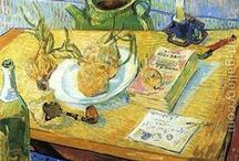 Van Gogh / Art of the famed one-eared Dutch painter Vincent Van Gogh / by Melody Dodd
