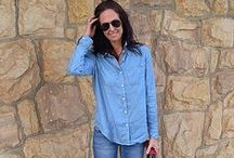 What I'm Wearing: Best of…Denim. / All the best denim looks from our What I'm Wearing stars in 2013.