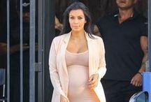 Kim Kardashian West's Marternity Style