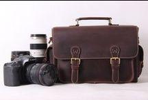 Genuine Leather Camera Bag / Genuine Leather Camera Bag