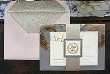 Custom Wedding Invitations / Beautiful custom designed wedding invitations for the brides and grooms of Femina Photo + Design
