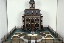 Design: Dolls Houses & Miniatures - Buildings / by Hazel Weller