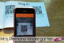 Technology in the Classroom / Ideas for integrating technology into your preschool, kindergarten or primary classroom.
