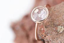 Jewelry Design Shop / Lebenslustiger.com jewelry design available at Etsy and DaWanda, dainty, rosé gold