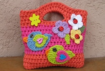 Crochet Kids Purses and Backpacks / by Linda Thomas