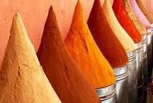 Colour: Orange/Yellow / by Hazel Weller