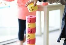 Alphabet / Alphabet crafts, activities, books, and ideas for teaching letters in your preschool, kindergarten or primary classroom.