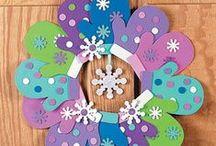 Winter / Winter crafts, activities, books, and teaching ideas for your preschool, kindergarten or primary classroom.
