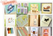 Birthday Cards / by Catered Crop
