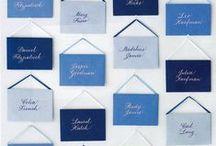 COULEUR - PALETTE DAZZLING BLUE / by Lierre & Vous Events