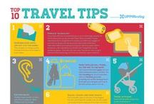 tips & tricks! / We've compiled some helpful tips and tricks for traveling with toddlers, car seat safety, and more!
