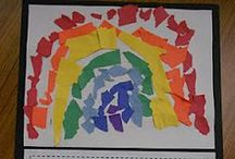 Colors / Color crafts, activities, books, and teaching ideas for your preschool, kindergarten or primary classroom.