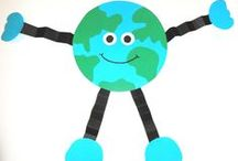 Earth Day / Earth Day crafts, activities, books, and teaching ideas for your preschool, kindergarten or primary classroom.