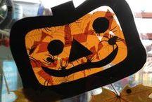 Halloween / Halloween crafts, activities, books, and teaching ideas for your preschool, kindergarten or primary classroom.