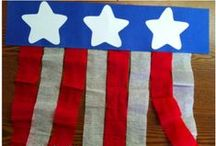 Patriotic Holidays / Patriotic crafts, activities, books, and teaching ideas for Fourth of July/Independence Day, Memorial Day, Veteran's Day, and Flag day in your preschool, kindergarten or primary classroom.