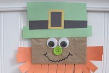 St. Patrick's Day / St Patrick's Day crafts, activities, books, and teaching ideas for your preschool, kindergarten or primary classroom.