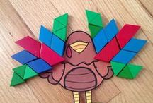 Thanksgiving / Thanksgiving crafts, activities, books, and teaching ideas for your preschool, kindergarten or primary classroom.