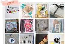Music Expressions / Music themed paper crafts