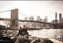 NYC Engagement Sessions / Engagement Sessions in and around New York City