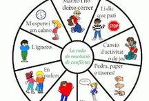 Educación: Cooperativismo, cohesión, conflictos, grupos / Cooperar, trabajar en equipo, conflictos...