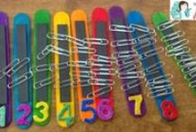 Math: Number Sense / Number Sense games, activities, and math center ideas for your preschool, kindergarten or primary classroom.