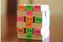 Math: Addition/Subtraction / Addition and Subtraction games, activities, strategies, and math teaching ideas for your preschool, kindergarten or primary classroom.