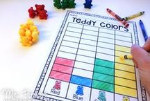 Math: Measurement & Data / Measurement projects, games, activities, and math ideas for your preschool, kindergarten or primary classroom.