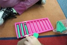 Math: Place Value / Place Value games, activities, and math ideas for your preschool, kindergarten or primary classroom.
