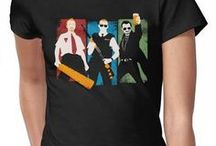 Movie/show shirt designs / Teeshirt designs referencing movies the cool way.