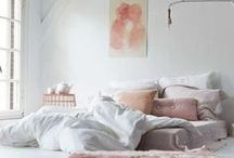 zzzzz...Bedroom / Beautiful bedrooms, bedding, bedroom decor, DIY ideas for the bedroom, bedside tables, plants for the bedroom, bed runners, cosy chunky blankets, Schlafzimmer, Bed, Bettwäsche, Schlafzimmerdekoration
