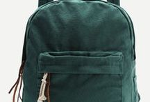 go green / color inspiration for our Austin (hunter green) VISTA and CRUZ fashion