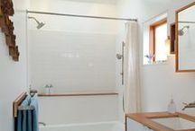 bathroom reno / by Marie Laser