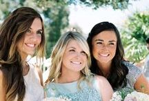 MY WEDDING: My Ladies / Maid of Honor: Anna Rice  Bridesmaids: Megan Beattie, Andrea Peterson & Morgan Mullaly  / by Jenessa Fenton