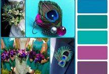Peacock wedding ideas... / by Kim Brannon